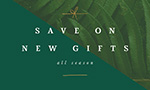 save on new gifts