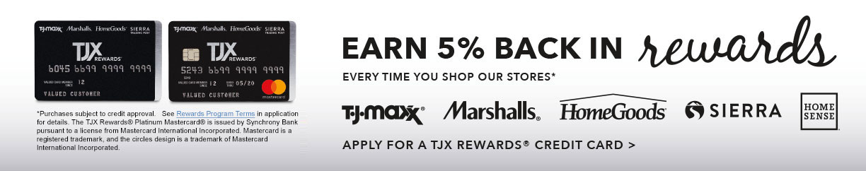 Earn 5% back in rewards!
